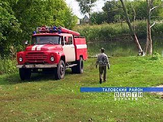 Жители Новой Чиглы взяли на содержание пожарную команду