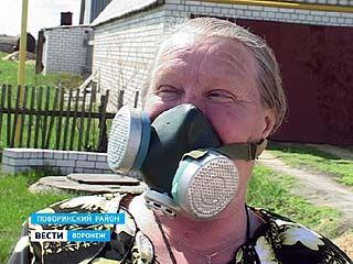 Жители села Рождественское обнаружили в овраге за огородами свалку пестицидов