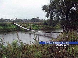 Жители Телермановского лесхоза вынуждены заниматься канатоходстовом
