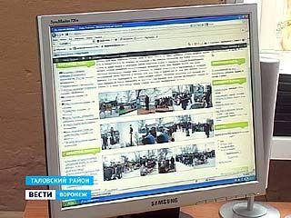 Жители Тишанки Таловского района открыли в сети свой сайт