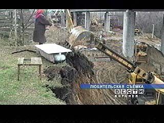 Жители Верхнего Мамона продолжают бороться со строителями