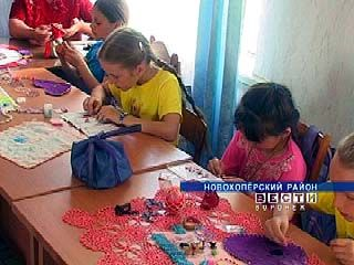 Жительница Новохоперского района организовала кружок бисероплетения