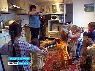 Жительница посёлка Шанино Таловского района решила открыть детсад на дому