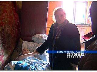 Жительница Семилук существует в нечеловеческих условиях