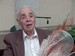 Журналисту Марку Давыдовичу Моцкину исполнился 91 год