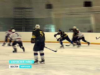 Журналисты федеральных СМИ сразились с бобровскими хоккеистами