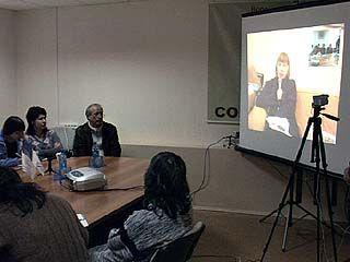 Журналисты провели видеоконференцию