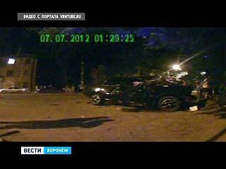 Жуткое ДТП произошло в Воронеже в ночь с пятницы на субботу