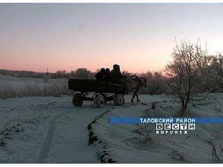 Зимовать в отдаленной Дубовке осталась лишь одна семья