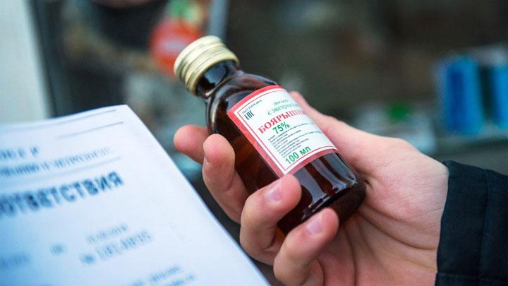Как в Воронежской области работает запрет на спиртосодержащую непищевую продукцию