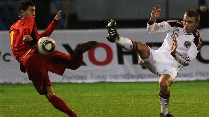 17 ноября 2010 года. Товарищеский футбольный матч сборных России и Бельгии в Воронеже