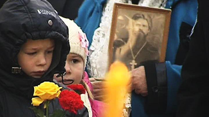14 октября 1990 года. Открыт Памятник жертвам репрессий