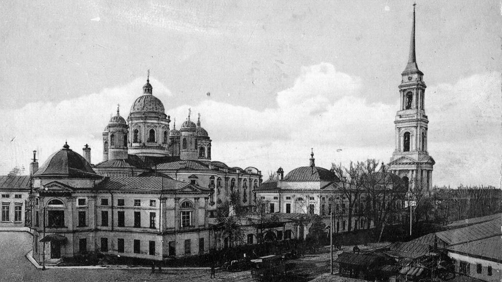 Сентябрь 1836 года. Открытие Митрофановского монастыря