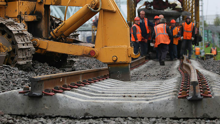 25 июня 2015 года подписан договор о строительстве железной дороги в обход Украины