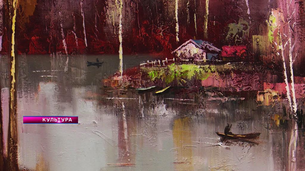 «Ночь искусств» в Воронеже и позитивные краски в работах Александра Ворошилина