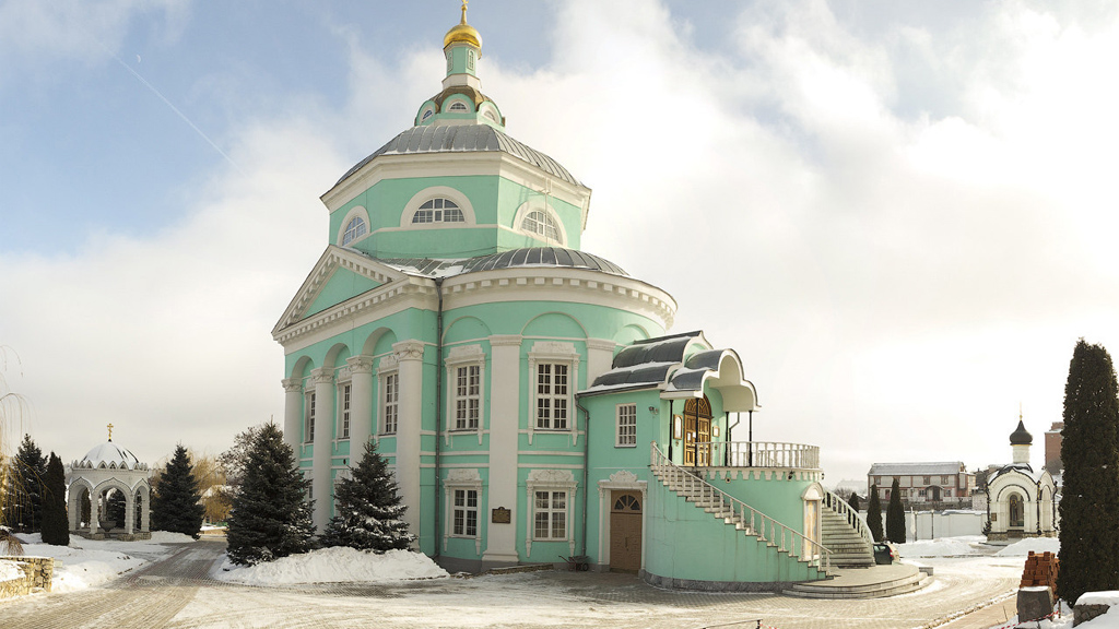 Февраль 1620 года. Основан Алексеевский Акатов мужской монастырь