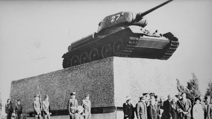 7 сентября 1979 года. Открытие памятника танкистам