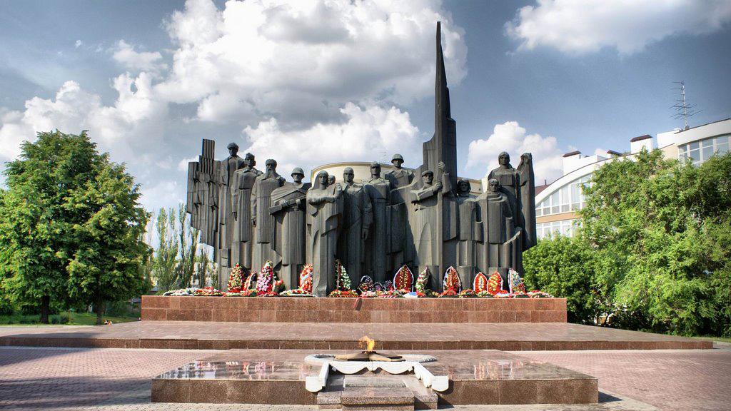 Награды и памятники Великой Отечественной войны в Воронеже