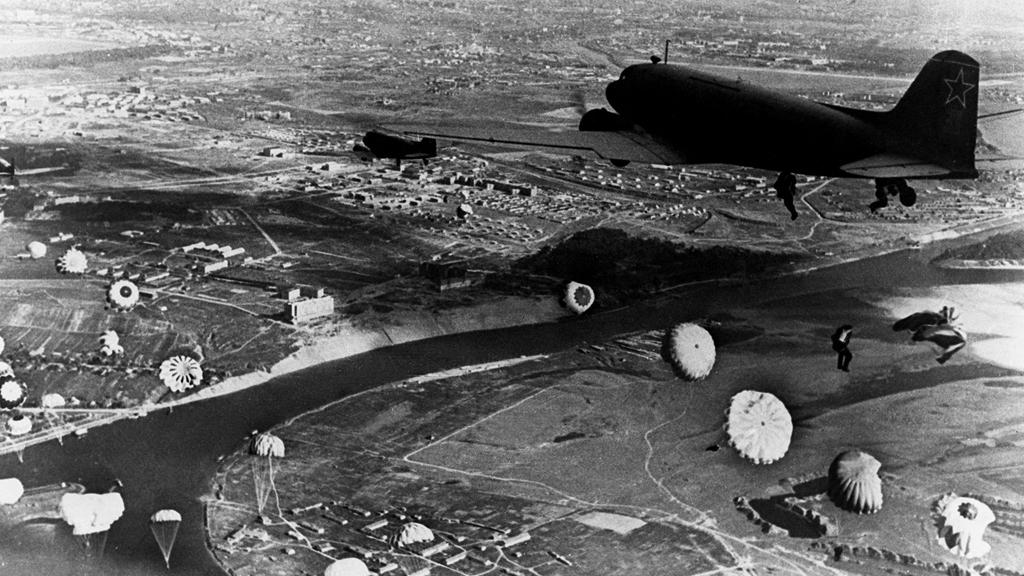 2 августа 1930 года. Высадка первого военного-воздушного десанта под Воронежем