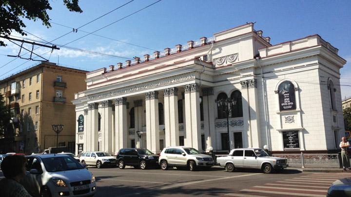 Апрель 2012 года. После 16-летнего ремонта открылся Воронежский драмтеатр