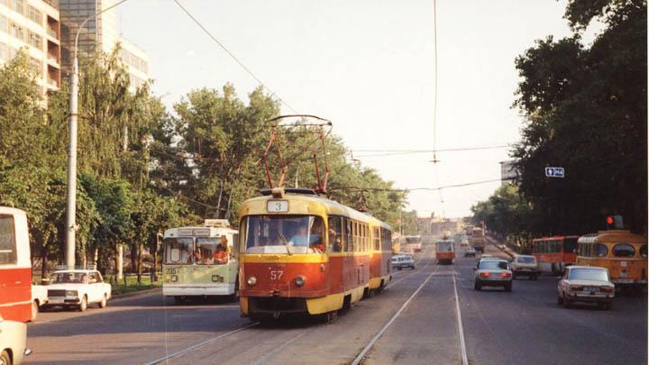 2 июня 2001 года закрылась самая загруженная трамвайная ветка Воронежа