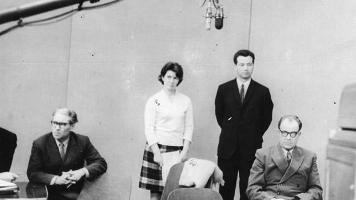 В мае 1954 года состоялась пеpвая пеpедача любительского телецентpа