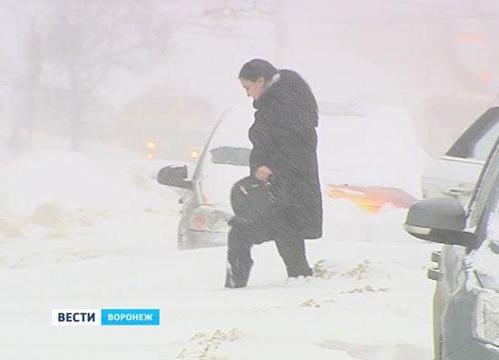 Без комментариев. Снег в Воронеже