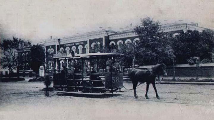 23 августа 1891 года в Воронеже открылась конно-железная дорога