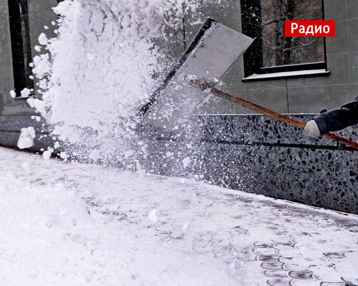 Как воронежские коммунальщики справляются с последствиями снегопадов и оттепелей