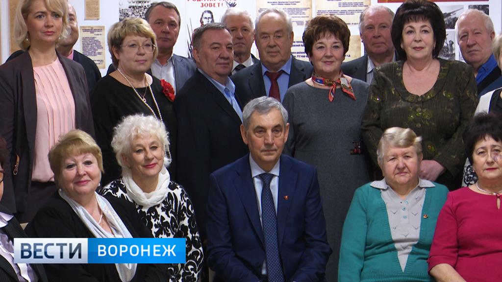 В Воронежской области состоялась встреча нескольких поколений комсомольцев