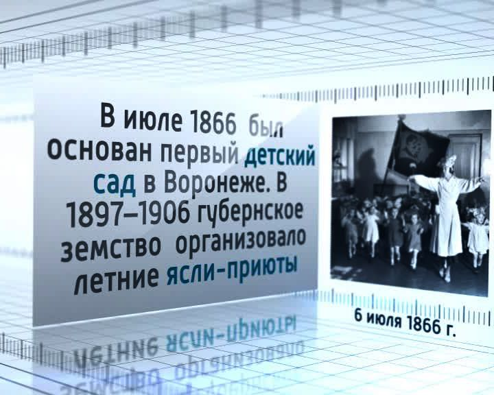 Календарь событий: 6 июля 1866 года появился первый детский сад в Воронеже