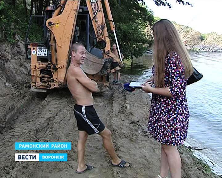 Ковшом экскаватора к мечте о природе – в Чертовицах незаконно изменяют береговой ландшафт