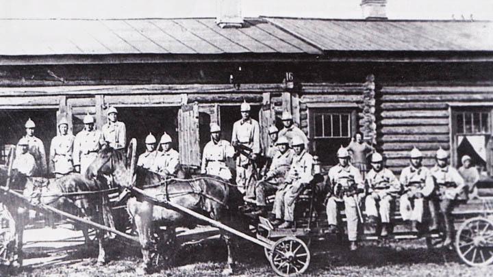 Декабрь 1644 года. В Воронеже организована первая пожарная команда