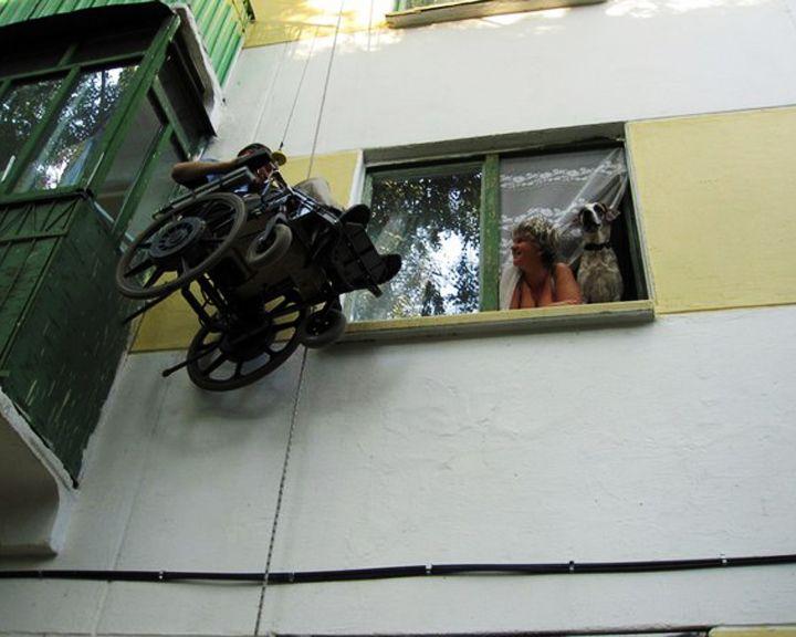 Мир меняют люди: Инвалид-колясочник из Воронежа смог «покорить высоту»