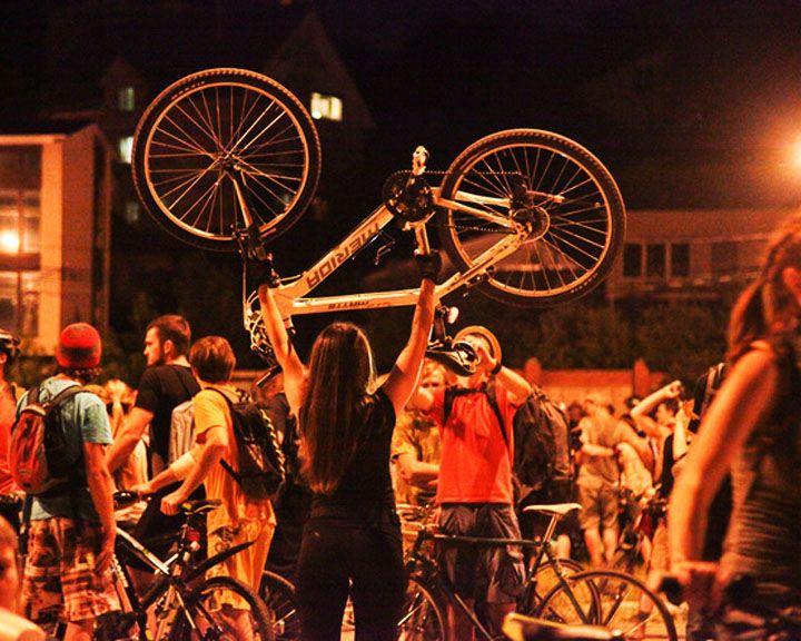 Мир меняют люди: Воронежская «Велоночь» уже стала мейнстримом