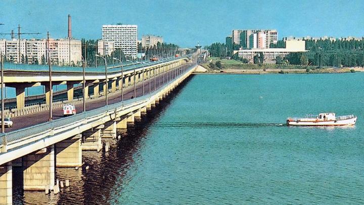 7 декабря 1985 года. В Воронеже открылось движение по Северному мосту