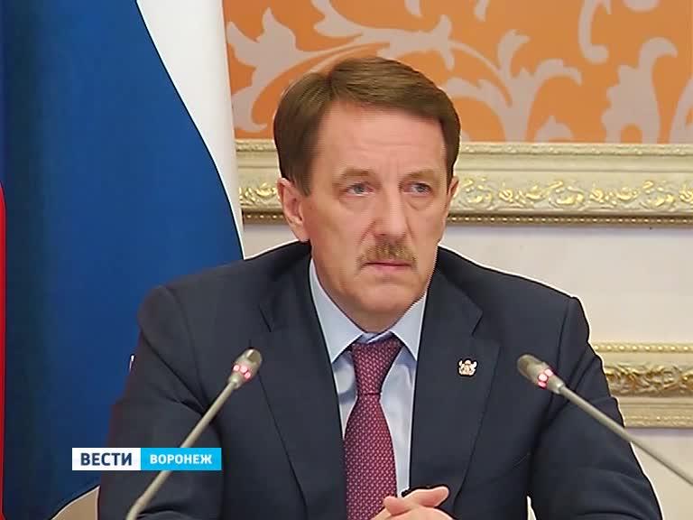 Пресс-конференция губернатора Воронежской области Алексея Гордеева