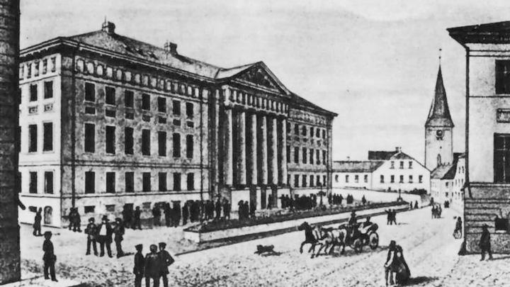 12 ноября 1918 года. Открытие Воронежского государственного университета