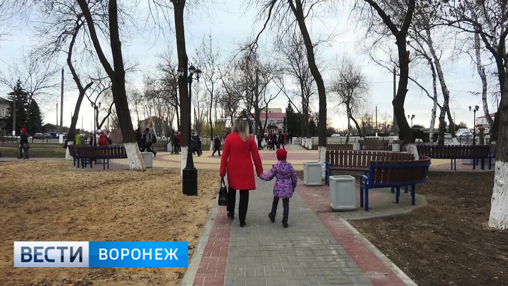 Как преобразятся районные центры Воронежской области в 2018 году