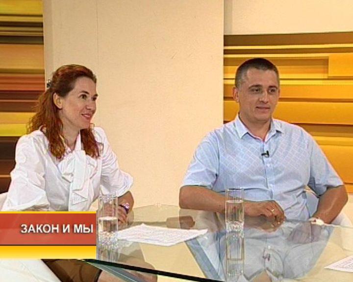Закон и мы от 04.05.2015 с Ольгой Ляпиной и Романом Ковальчуком